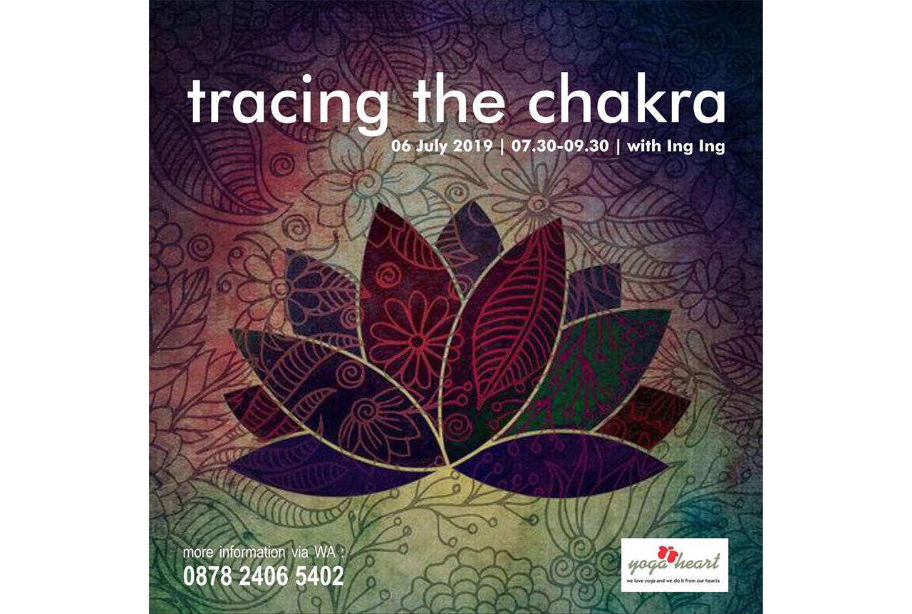 tracing the chakra